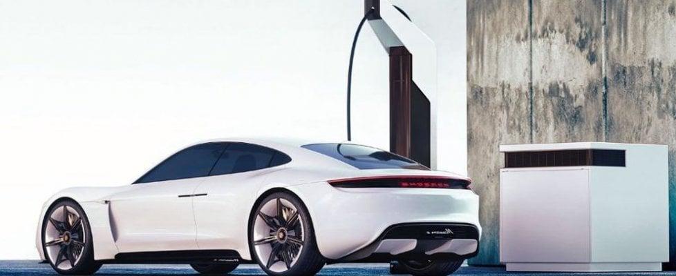 Porsche-Taycan-elettrica