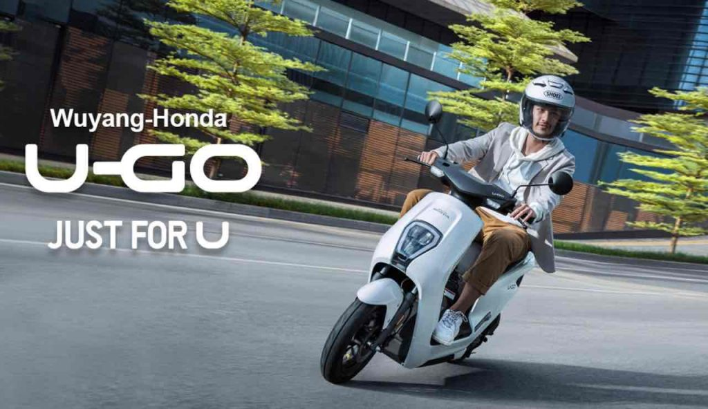 Honda u-go scooter elettrico
